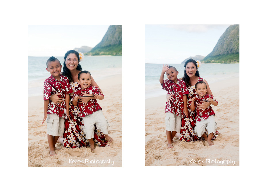 Hawaii Beach Family Photos