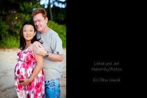 Ko Olina maternity photos couple