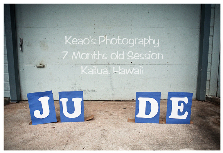 Keao's Photography 7 month old slide pictuer