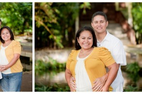 Moanalua Gardens family photos on Oahu