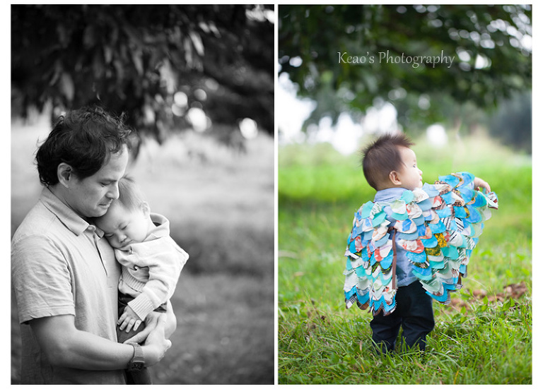 Kaneohe Hawaii family photographer owl wings
