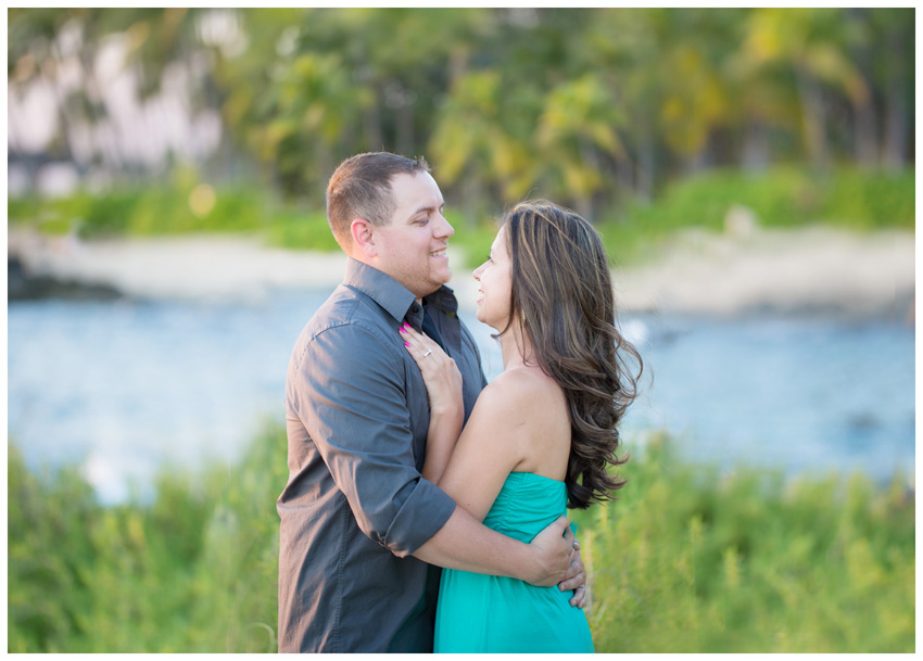 engagement photos by Ko Olina Lagoons