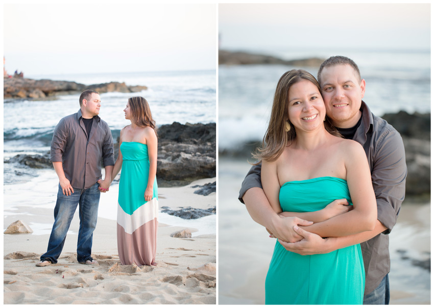 sunset engagement photos Ko Olina Oahu