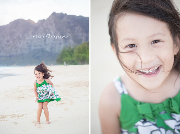 Hawaii family photographer captures the joy of childhood