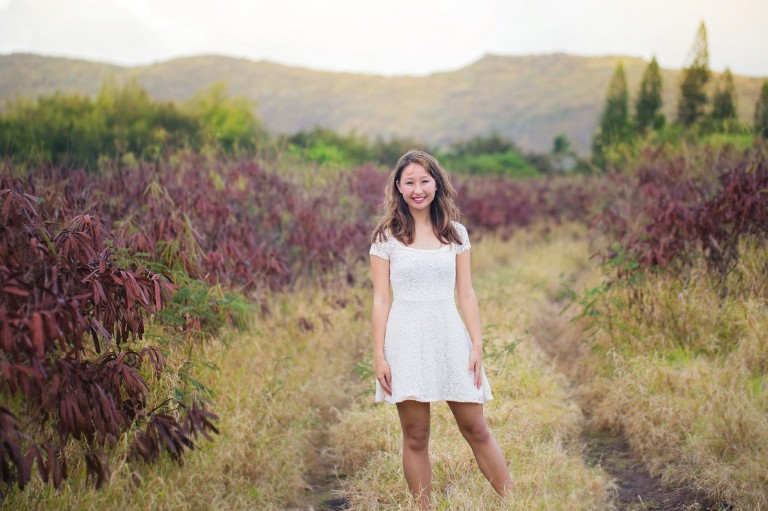 makapuu senior photos with caitlin