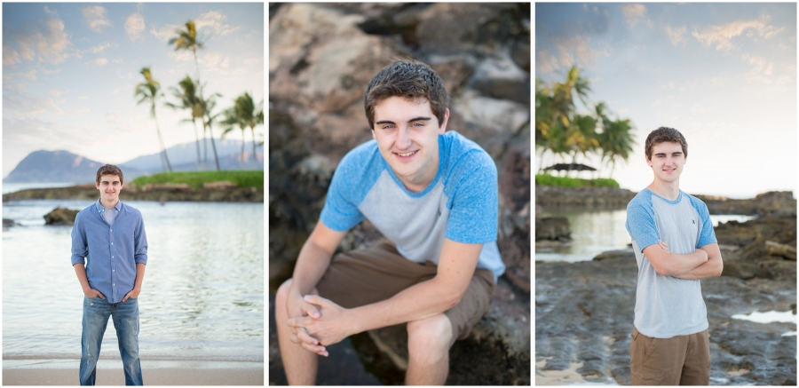 senior photos hawaii oahu